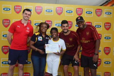 MTN Arsenal Coaching Clinic (7)