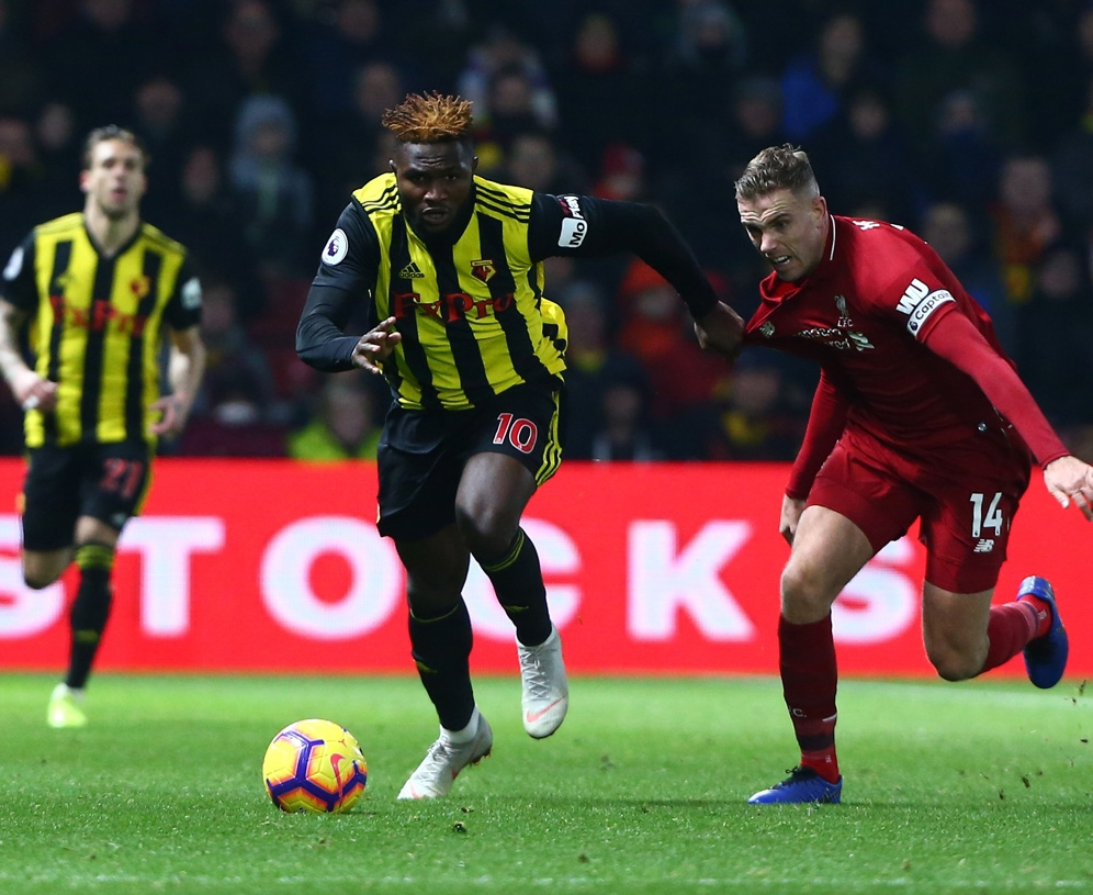 Success Rues Watford Home Defeat To Liverpool