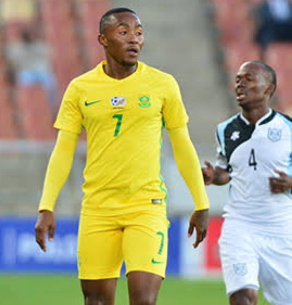 Bafana Midfielder,  Maboe: We Won't Sit Back Against Super Eagles
