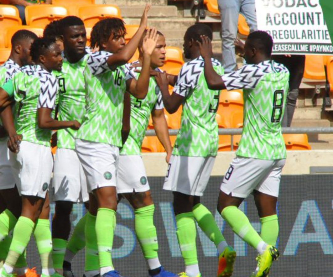 Eagles Draw With Bafana In Jo'burg, Bag AFCON 2019 Spot