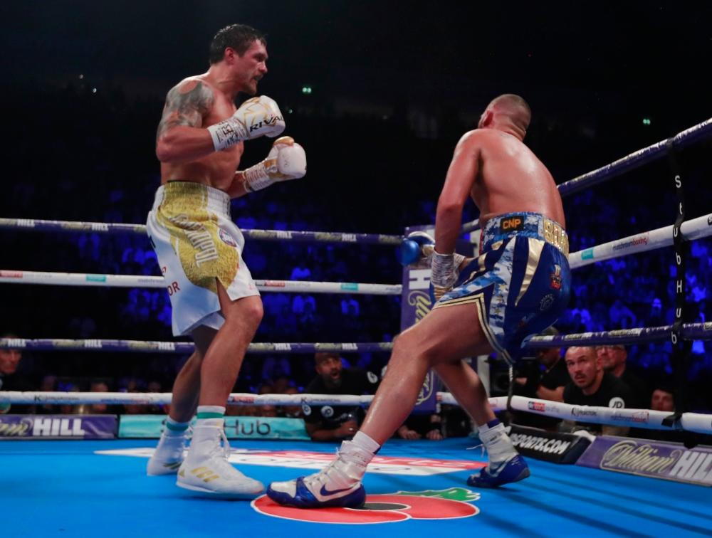 Bellew Dream Ended By Classy Usyk