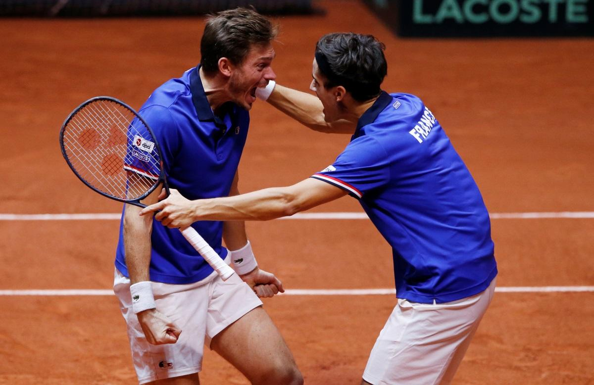 Doubles Victory Gives France Hope