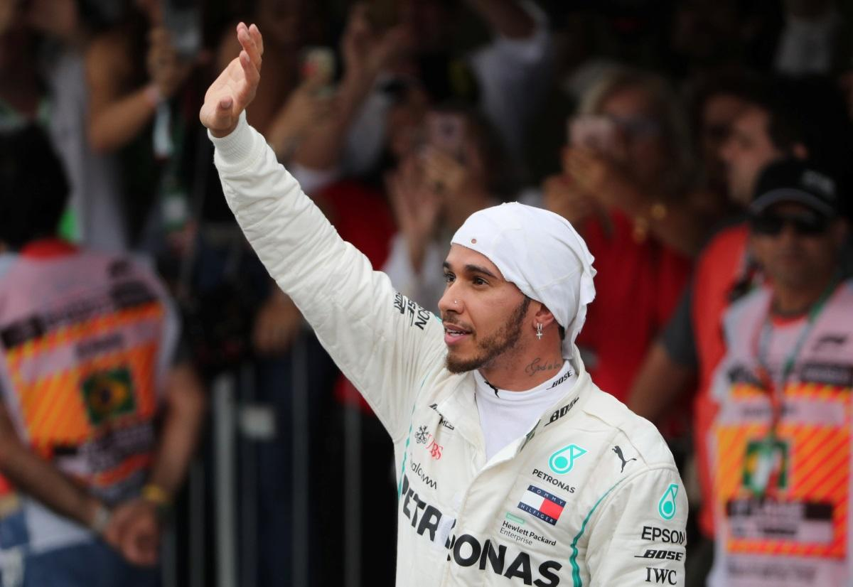 Hamilton's Brazil Win Wraps Up Mercedes' Title