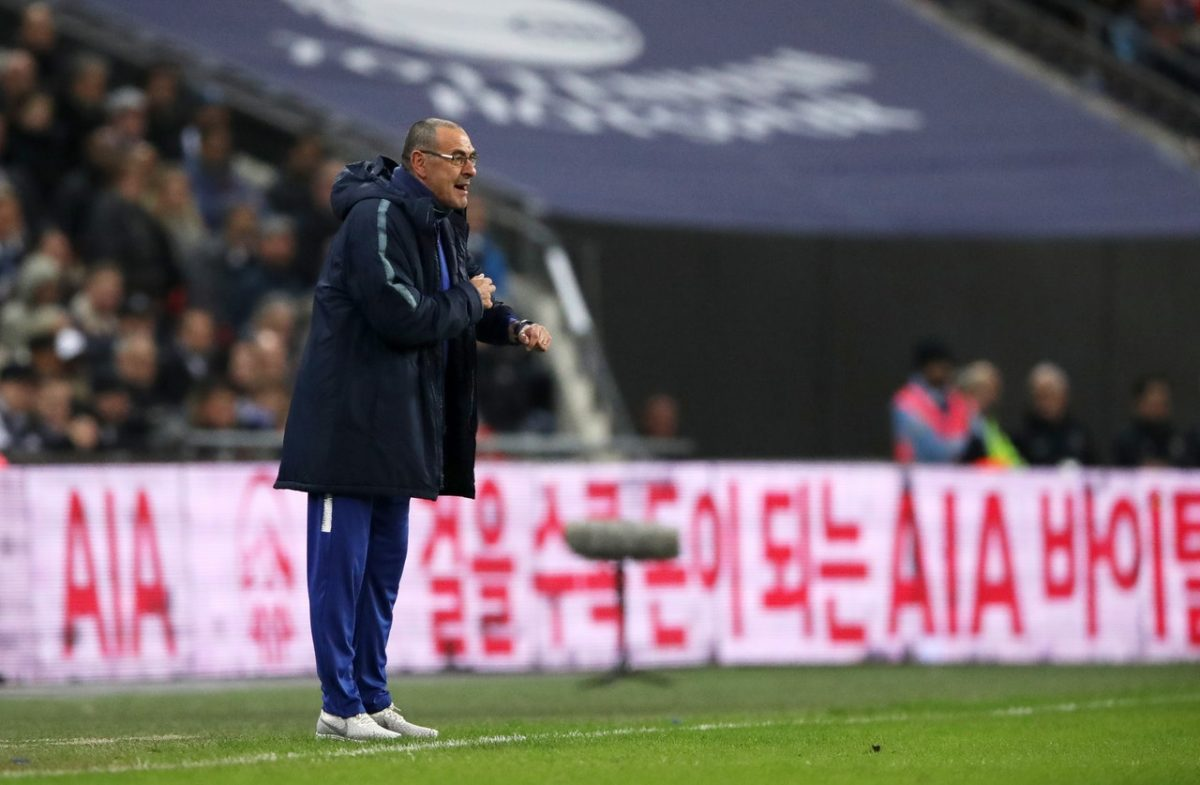 It Was A Disaster Says Sarri After Spurs Loss