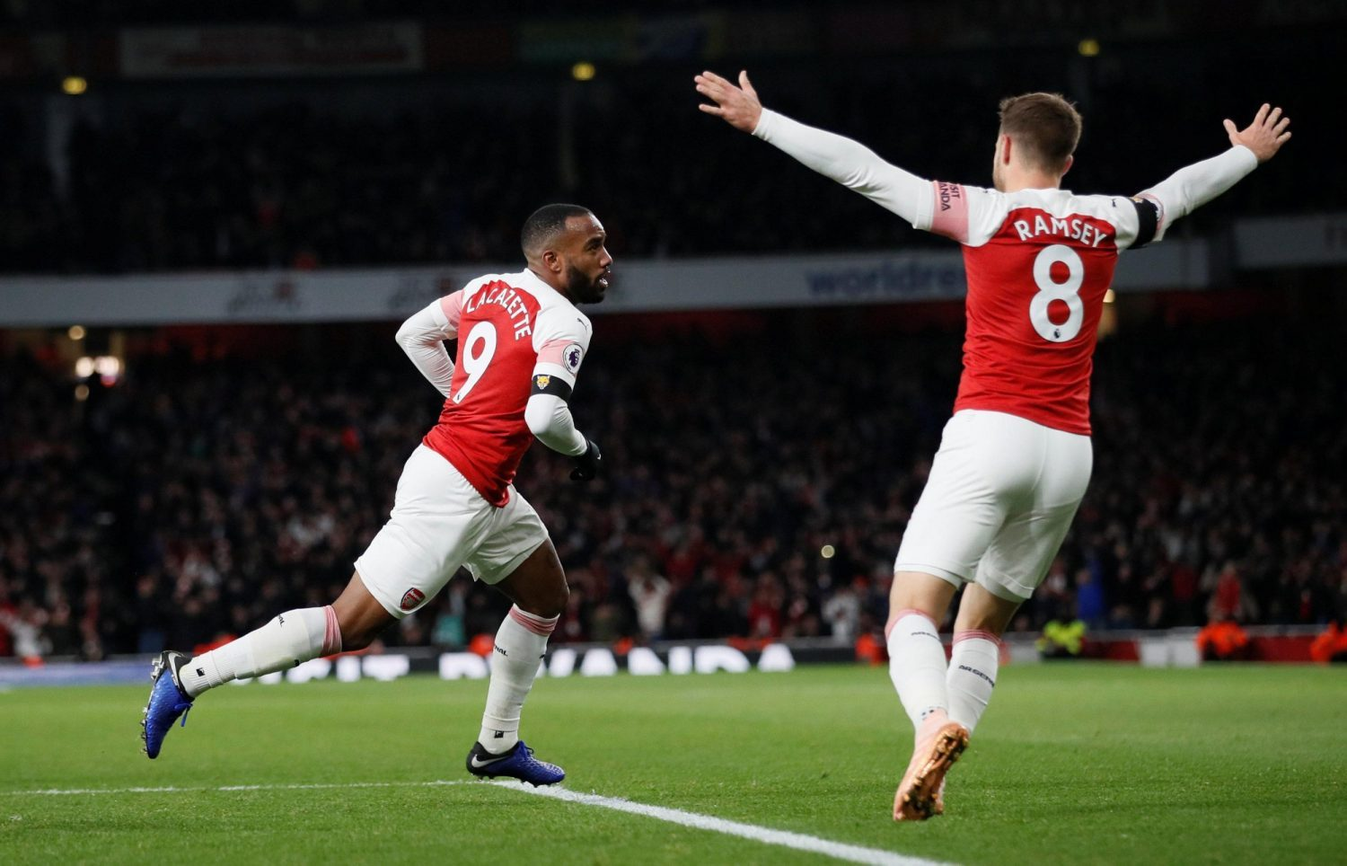 Lacazette Happy With Life At Arsenal