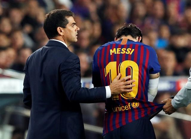 Messi Back In Barca Squad