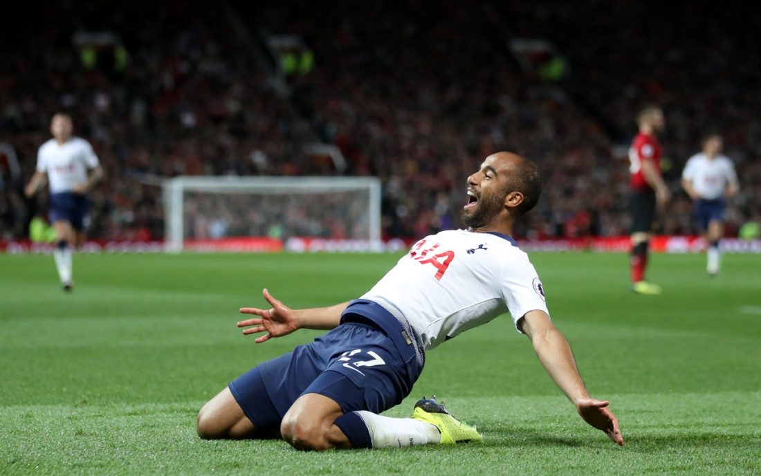 Moura Enjoying Life At Spurs