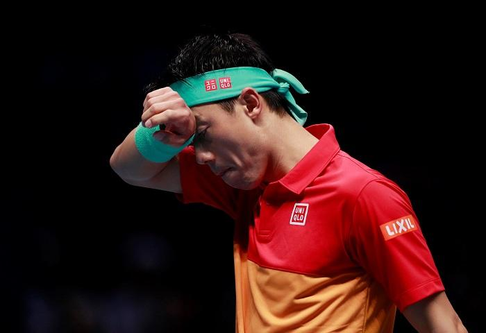 Nishikori Disgusted With London Performance