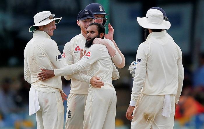 Rashid Stars As England Take Control