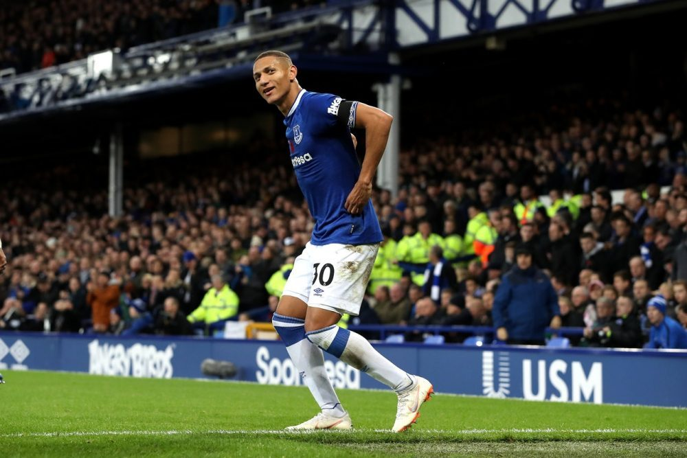Toffees Forward Happy To Fill In