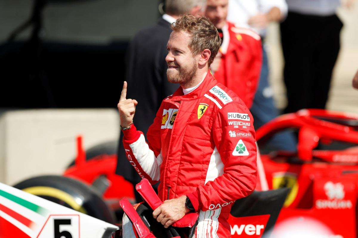 Vettel Talks Up Ferrari Progress