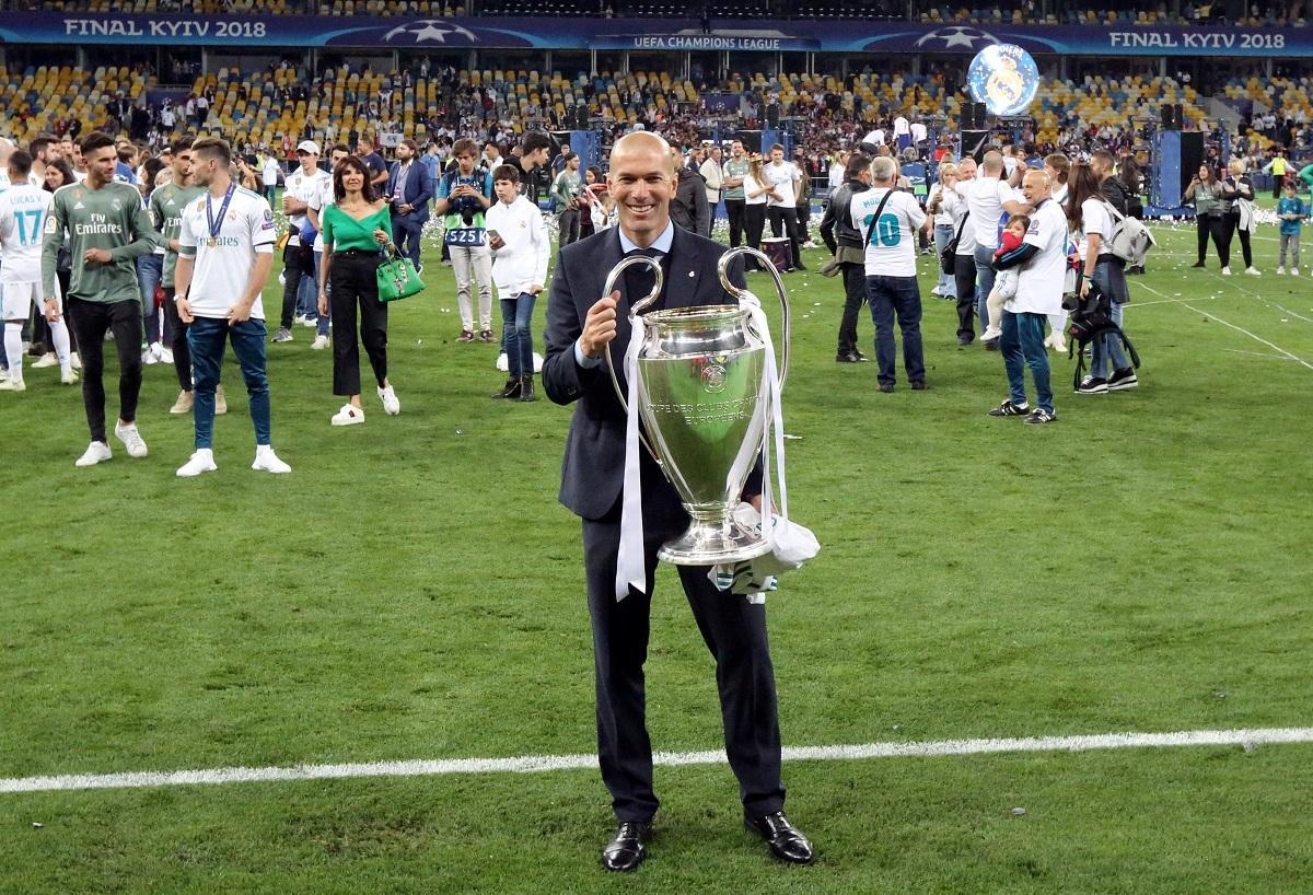 Zidane In Bayern Munich Frame