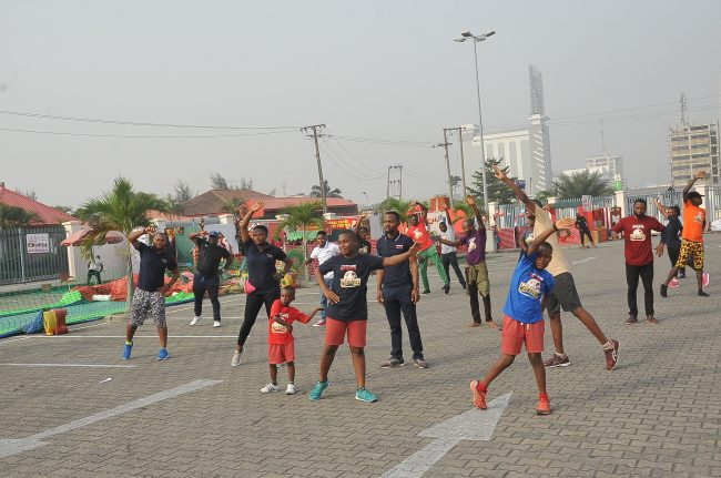 Eagles Stars Shine At Complete Sports Maiden Celebrity Workout