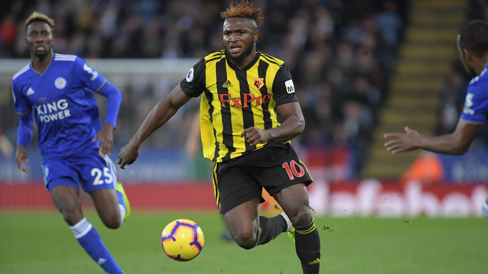 EPL: Ndidi, Success In Action As Leicester Pip Watford; Balogun, Iheanacho Subbed On