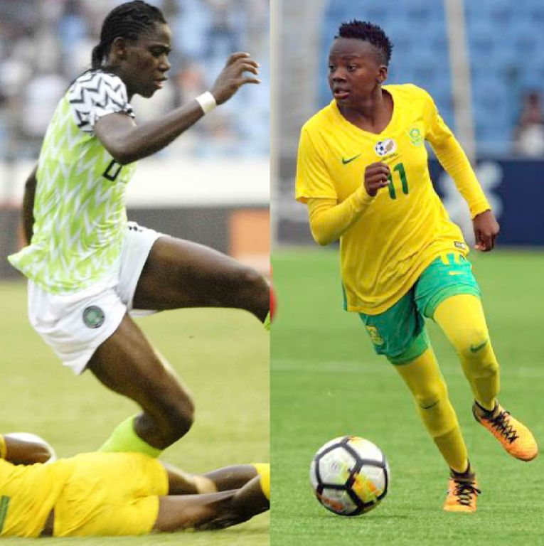 AWCON 2018: Oshoala Battles South Africa's Kgatlana For Top Scorer's Prize
