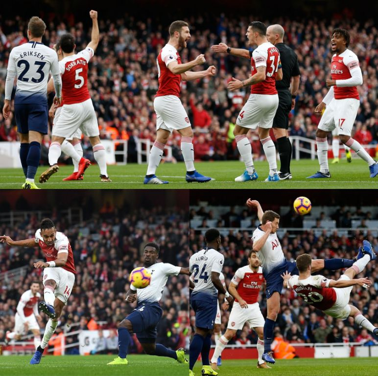 Iwobi Subbed Off As Rampant Arsenal Gun Spurs Down In Thrilling Derby