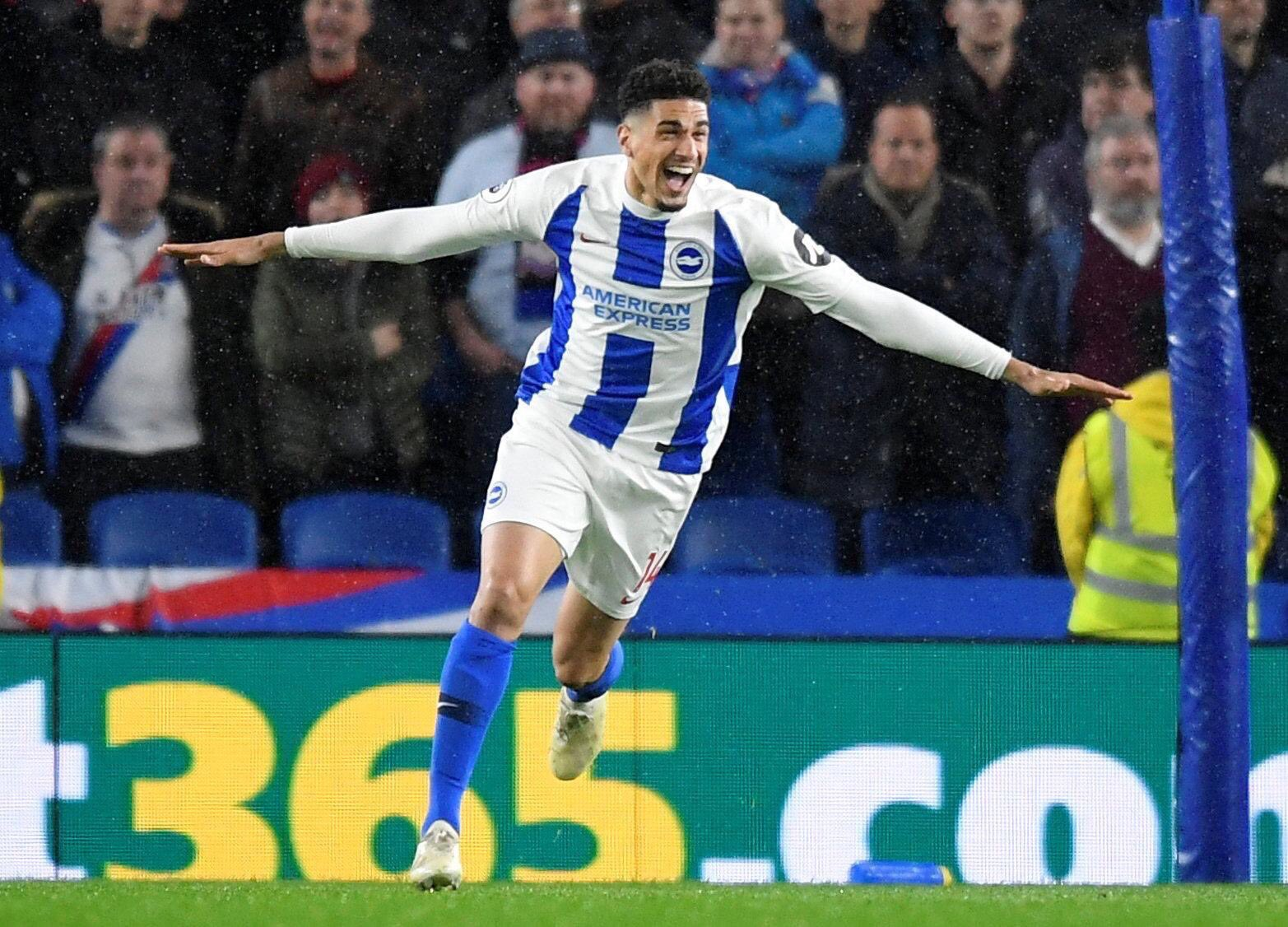 Balogun Hails Brighton's 'Outstanding Team Performance' In EPL Win Over Palace