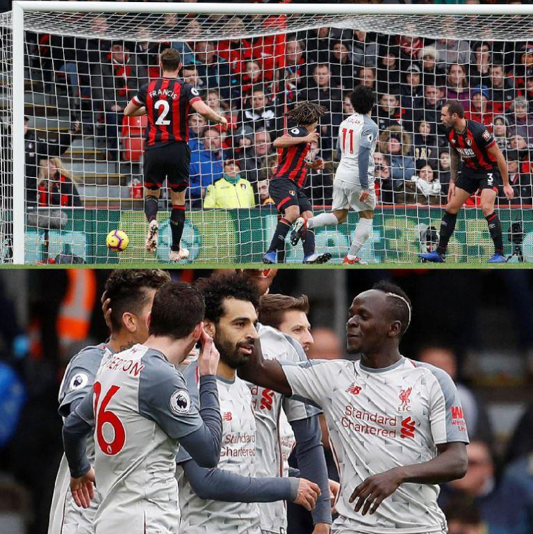 Three-lliant! Salah's Hat-Trick Vs Bournemouth Gives Liverpool Top Spot Feeling