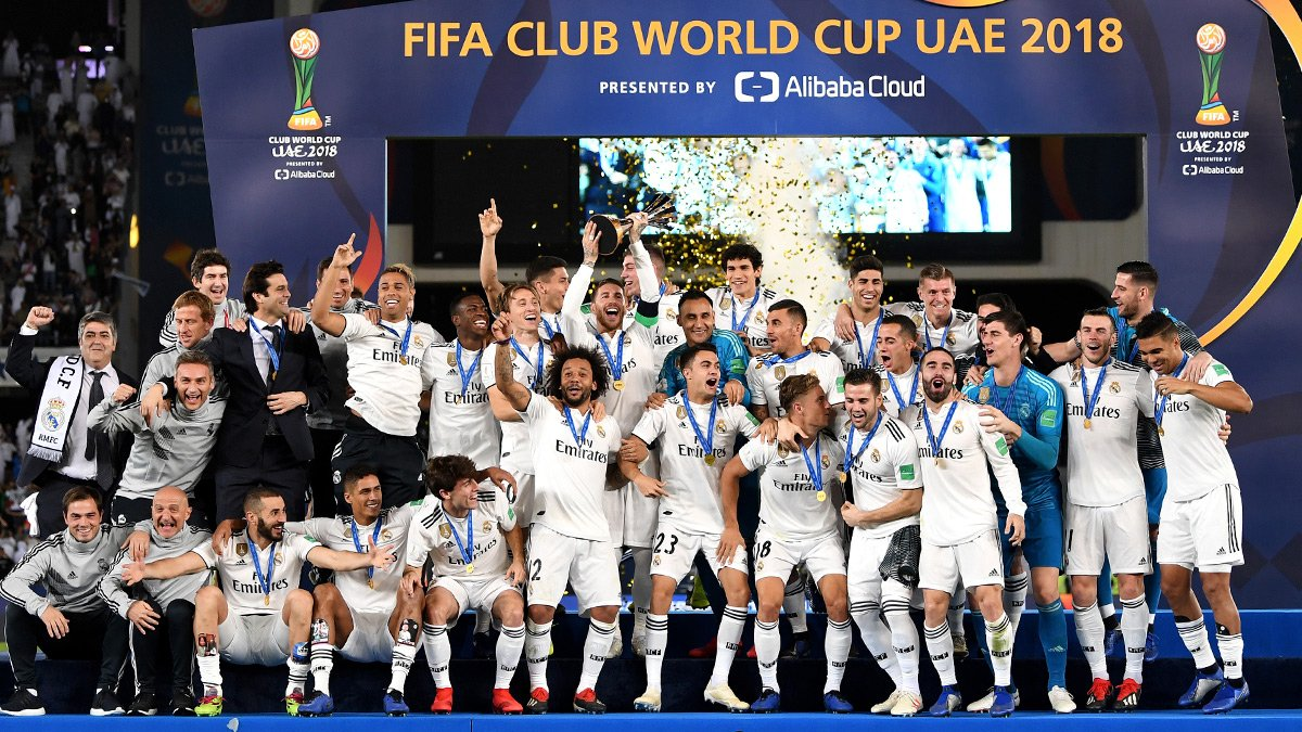 Real Madrid wins third straight Club World Cup title