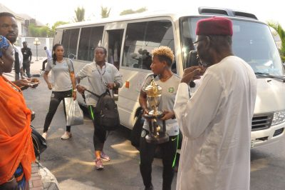Presidency, NFF welcome Super Falcons As Dangote Splashes N50m