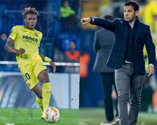 Copa del Rey: Villarreal Coach Calleja Lauds Chukwueze, Teammates For Round Of 16 Spot
