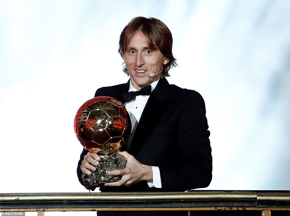 Modric wins Ballon d´Or