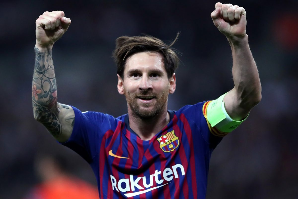 Amor Hails Great Messi