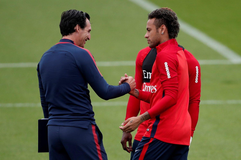 Neymar Hints At Premier League Switch