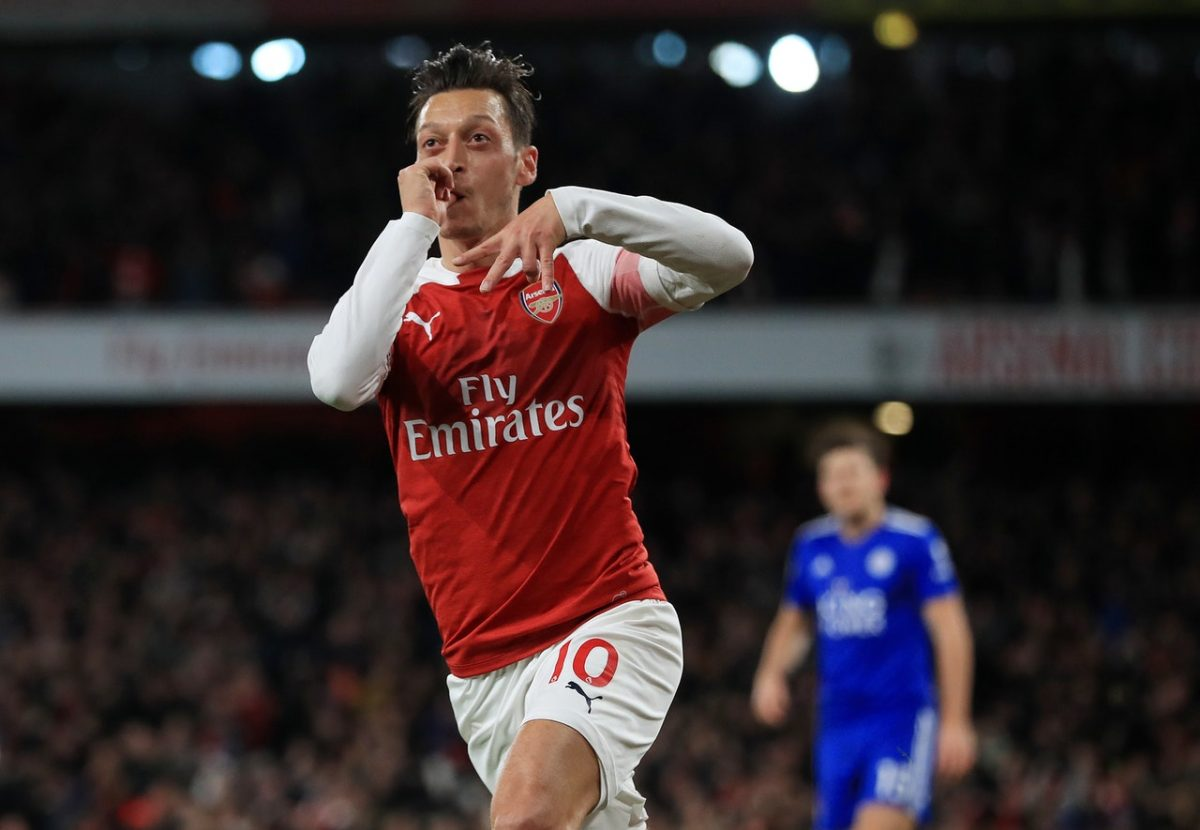 Ozil Unlikely To Make OT Encounter